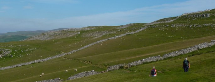 Walking on the Dales Way