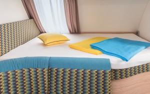 Caravan Interior Bed